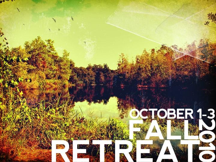 Fall Retreat 2010 powerpoint slide