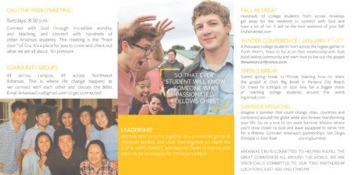Arkansas brochure inside